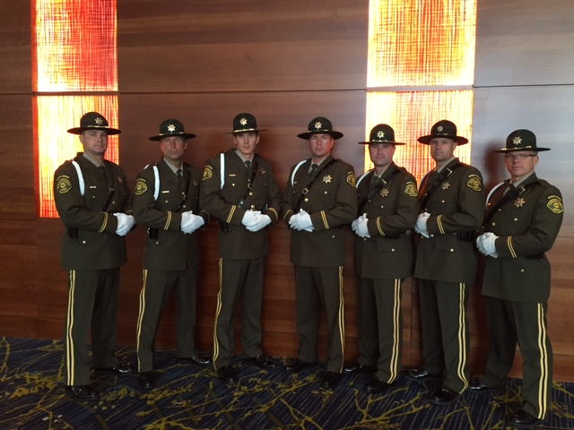 Honor Guard at AAMVA Conference in Des Moines