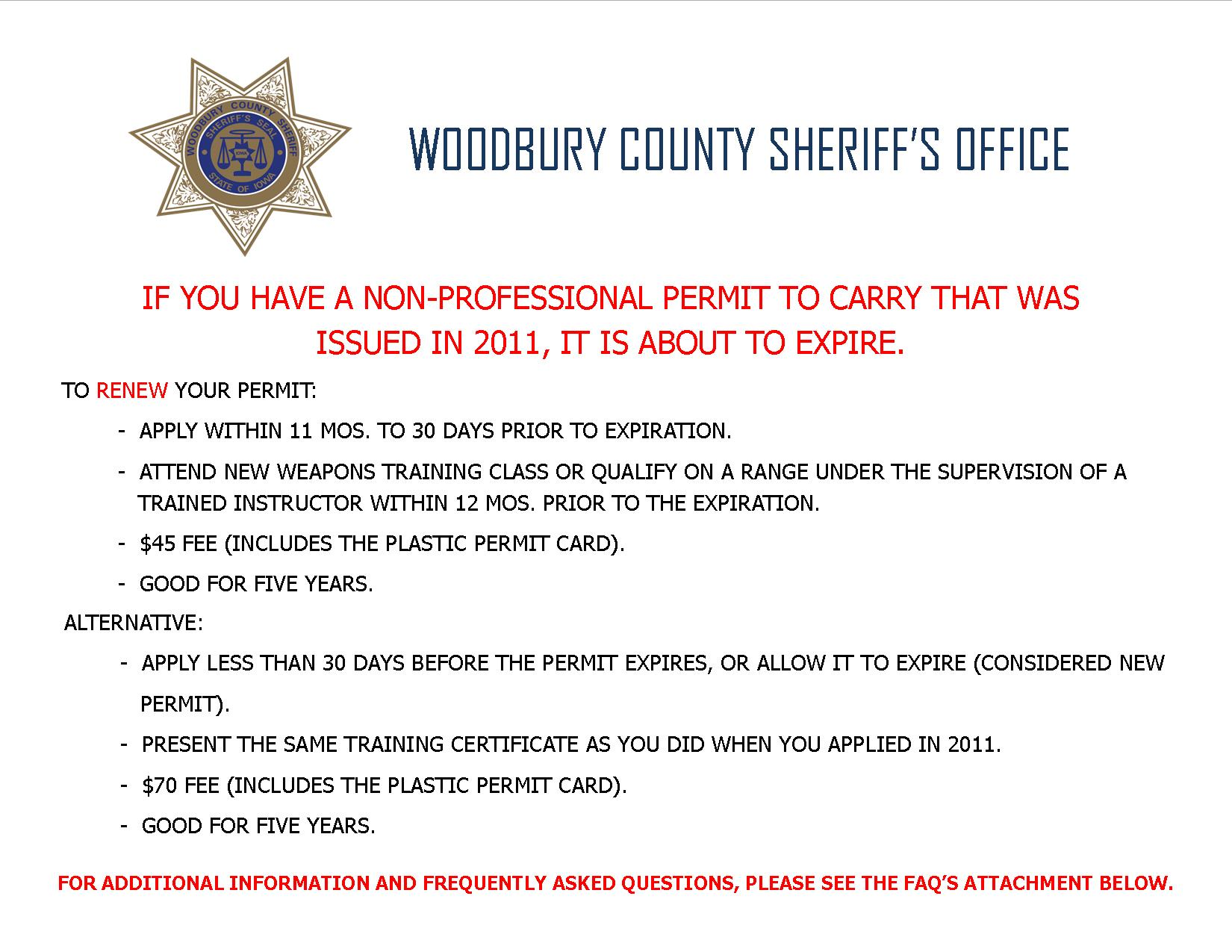 NP Carry Permit Renewal Info